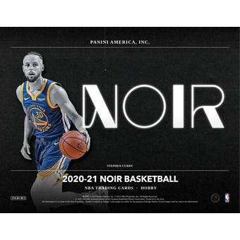2020/21 Panini Noir Basketball Hobby 4-Box Case (Presell)