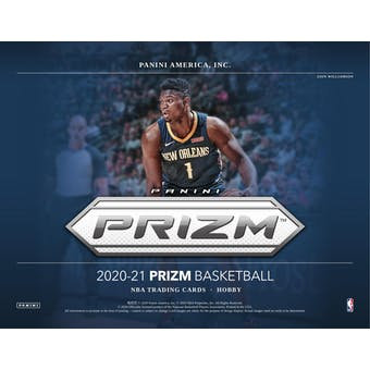 2020/21 Panini Prizm Basketball Hobby 6-box- DACW Live 30 Spot Random Team Break #1