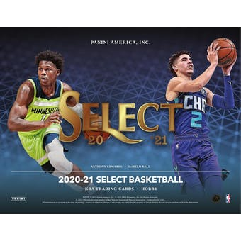 2020/21 Panini Select Basketball 3-Box- 2021 National 6 Spot Random Division Break #1