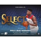 2020/21 Panini Select Basketball H2 Hobby Hybrid Box (Presell)
