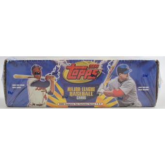 2000 Topps Baseball Retail Factory Set (Blue) (Reed Buy)