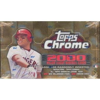 2000 Topps Chrome Series 2 Baseball Hobby Box