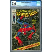 Amazing Spider-Man #100 CGC 7.0 (C-OW) *2001101006*