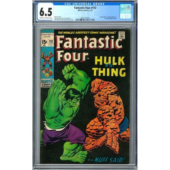Fantastic Four #112 CGC 6.5 (C-OW) *2001101007*
