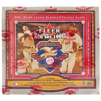 2001 Fleer Red Sox 100th Anniversary Legacy Baseball Hobby Box (Reed Buy)