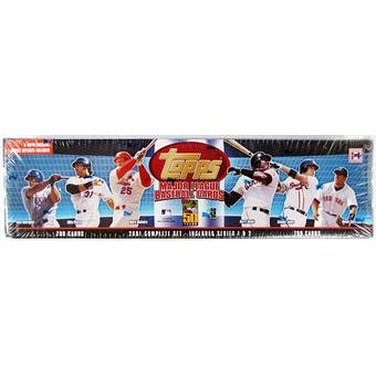 2001 Topps Baseball Hobby Factory Set (Box) (Blue) (Reed Buy)