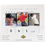 2001 Upper Deck Golf Hobby Box (Reed Buy)