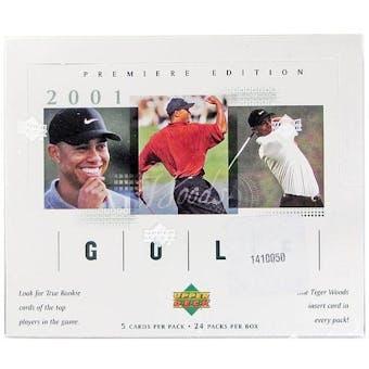 2001 Upper Deck Golf Hobby Box