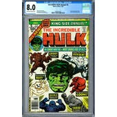 Incredible Hulk Annual #5 CGC 8.0 (OW-W) *2002457002*