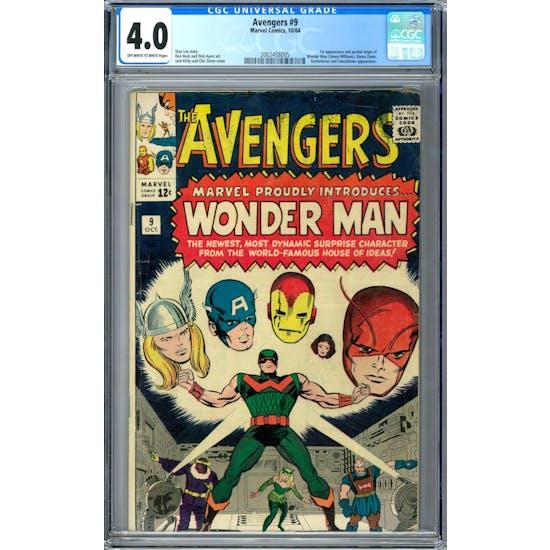 Avengers #9 CGC 4.0 (OW-W) *2002458005*