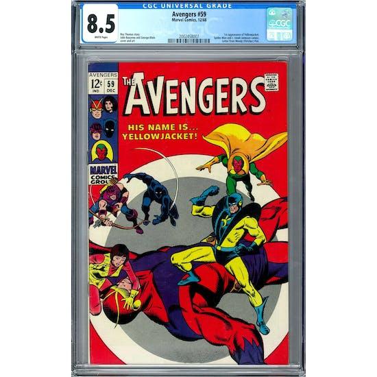 Avengers #59 CGC 8.5 (W) *2002458007*