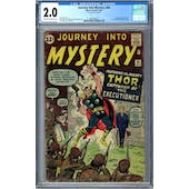 Journey Into Mystery #84 CGC 2.0 (OW-W) *2002458011*