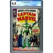 Marvel Super-Herores #12 CGC 6.0 (OW-W) *2002458013*