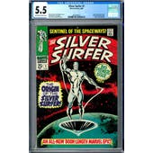 Silver Surfer #1 CGC 5.5 (OW-W) *2002458015*