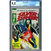 Silver Surfer #5 CGC 9.0 (W) *2002458018*