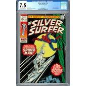 Silver Surfer #14 CGC 7.5 (OW-W) *2002458019*