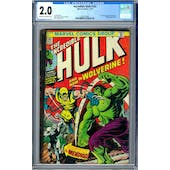 Incredible Hulk #181 CGC 2.0 (C-OW) *2002518001*