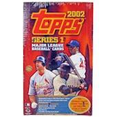 2002 Topps Series 1 Baseball Jumbo Box (Reed Buy)