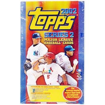 2002 Topps Series 2 Baseball 36 Pack Box