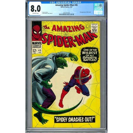 Amazing Spider-Man #45 CGC 8.0 (OW) *2003101002*