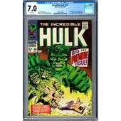 Incredible Hulk #102 CGC 7.0 (W) *2003101004*