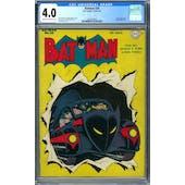 Batman #20 CGC 4.0 (C-OW) *2003220007*