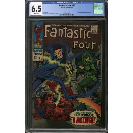 Fantastic Four #65 CGC 6.5 (W) *2003428005*