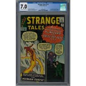 Strange Tales #110 CGC 7.0 (OW-W) *2003833002*
