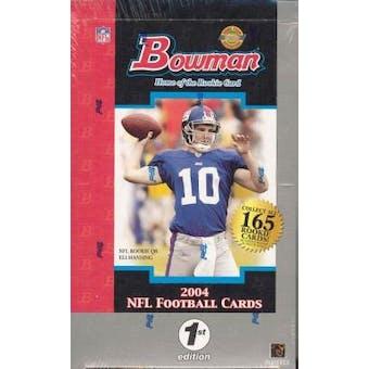 2004 Bowman First Edition Football Hobby Box