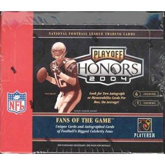 2004 Playoff Honors Football Hobby Box