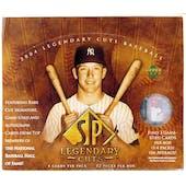 2004 Upper Deck SP Legendary Cuts Baseball Hobby Box