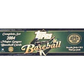 2004 Topps Baseball HTA Factory Set (Box) (Green)
