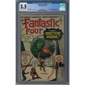 Fantastic Four #5 CGC 3.5 (C-OW) *2005744002*