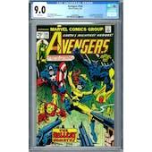 Avengers #144 CGC 9.0 (W) *2005999001*