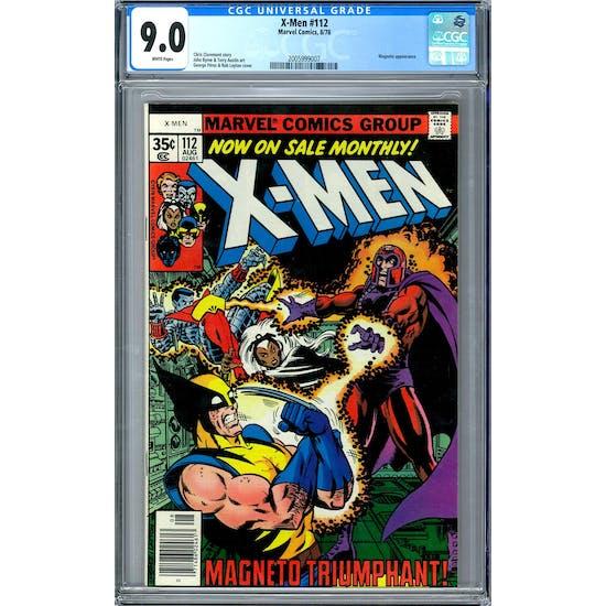 X-Men #112 CGC 9.0 (W) *2005999007*