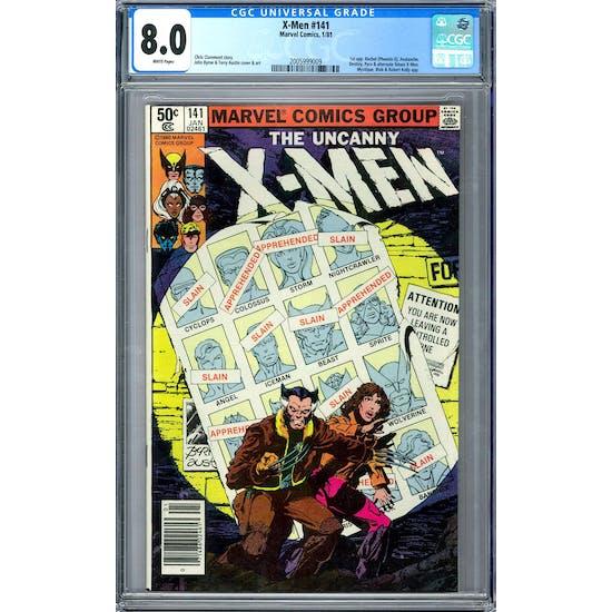 X-Men #141 CGC 8.0 (W) *2005999009*
