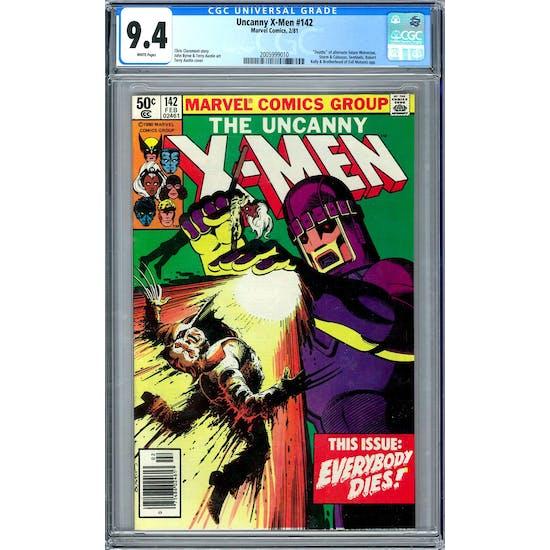 Uncanny X-Men #142 CGC 9.4 (W) *2005999010*
