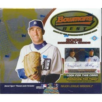 2005 Bowman's Best Baseball Hobby Box