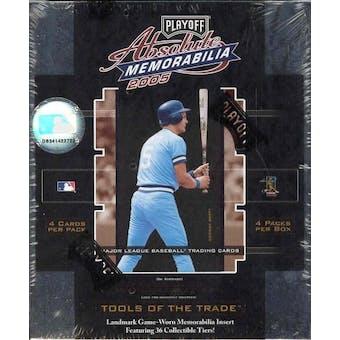2005 Playoff Absolute Memorabilia Baseball Hobby Box
