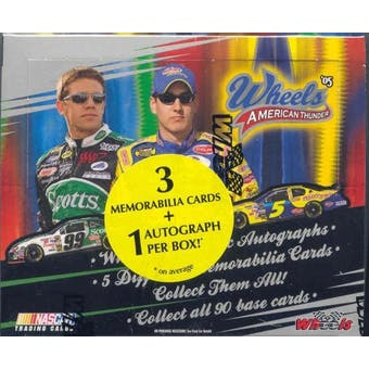 2005 Press Pass Wheels American Thunder Racing Hobby Box