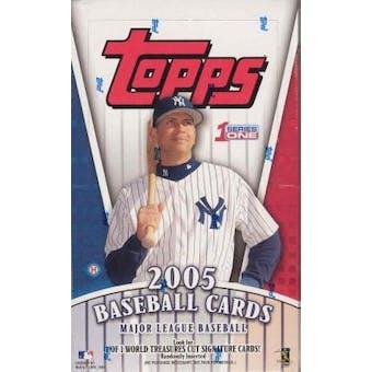 2005 Topps Series 1 Baseball Hobby Box