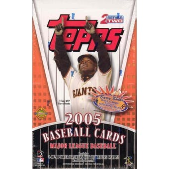 2005 Topps Series 2 Baseball Jumbo Box