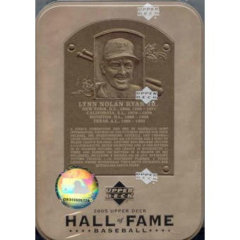 2005 Upper Deck Hall of Fame Baseball Hobby Tin (Box)