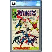 Avengers #58 CGC 9.6 (W) *2006001002*
