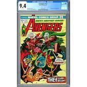 Avenger #115 CGC 9.4 (W) *2006001004*