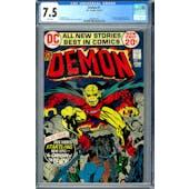 Demon #1 CGC 7.5 (W) *2006001007*