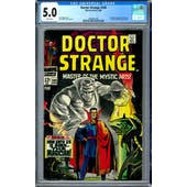 Doctor Strange #169 CGC 5.0 (W) *2006001009*