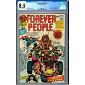 Forever People #1 CGC 8.5 (OW-W) *2006001010*