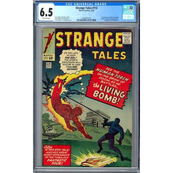 Strange Tales #112 CGC 6.5 (OW) *2006001016*