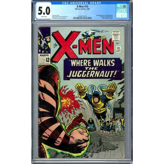 X-Men #13 CGC 5.0 (W) *2006001018*